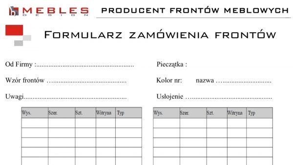 Pobierz formularz zamówienia frontów (83 kB)